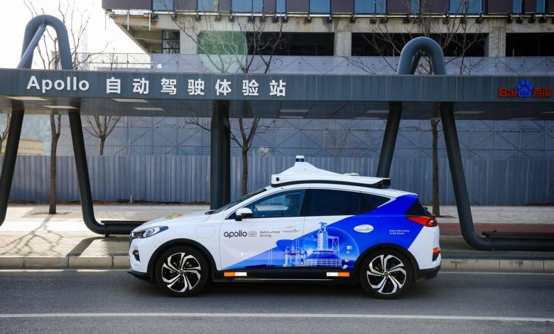 Baidu to deploy autonomous taxi service in Beijing for Winter Olympics